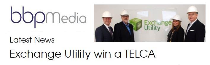Exchange Utility win a TELCA