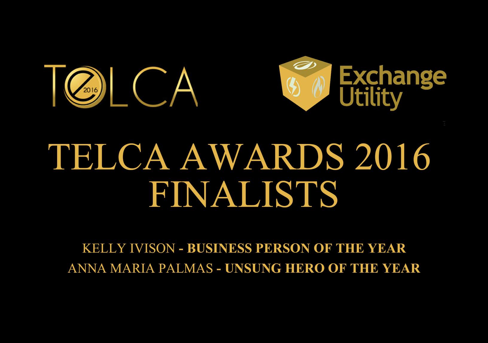 Exchange Utility TELCA Finalists 2016
