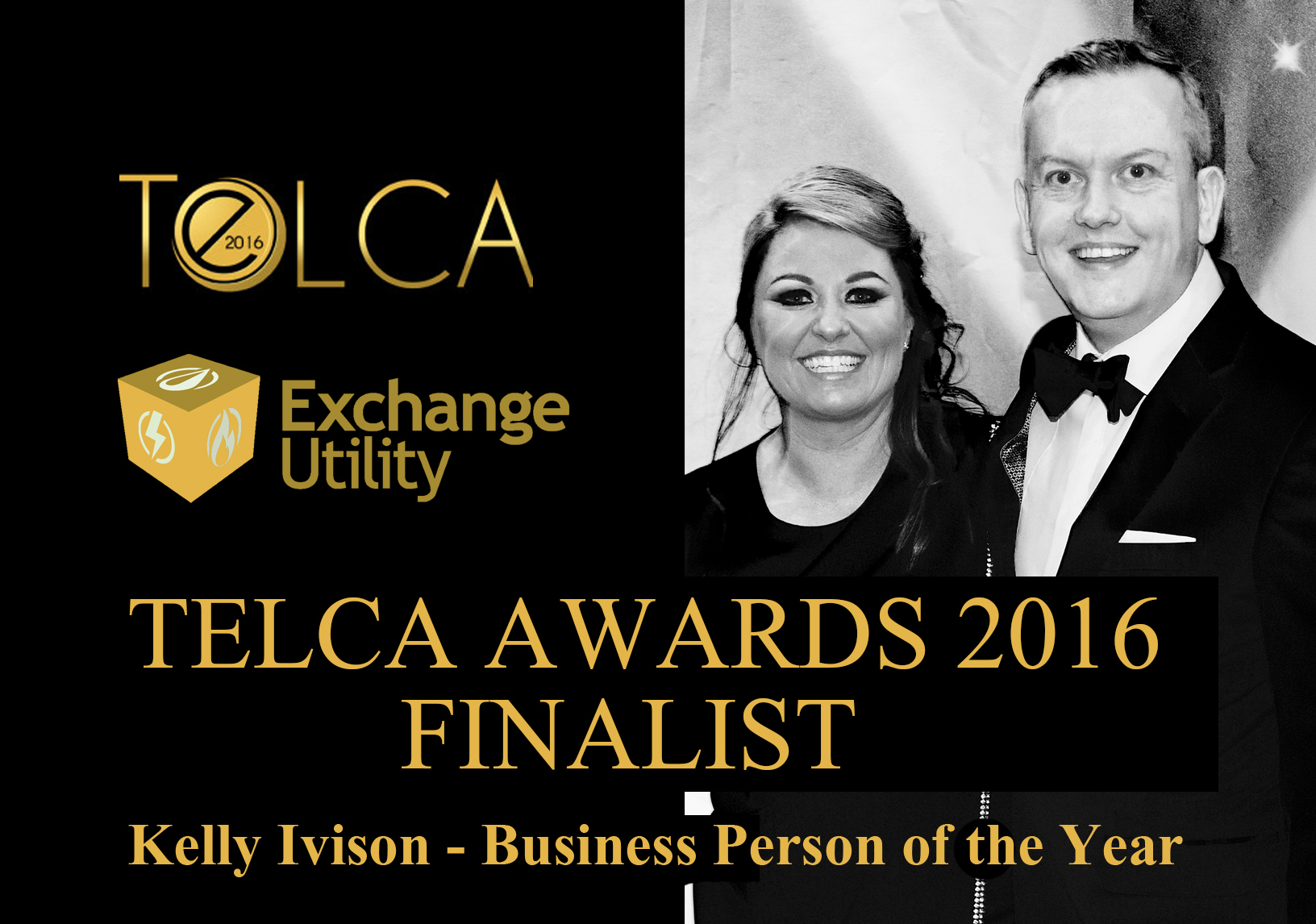 Business Person of the Year TELCA Finalist 2016 Kelly Ivison