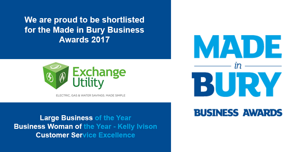 Made in bury business awards 2017 Shortlist
