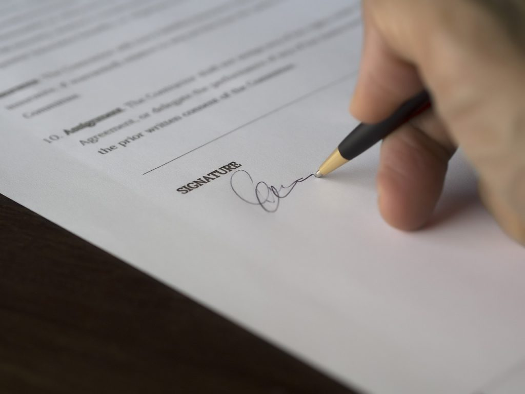 business energy contract
